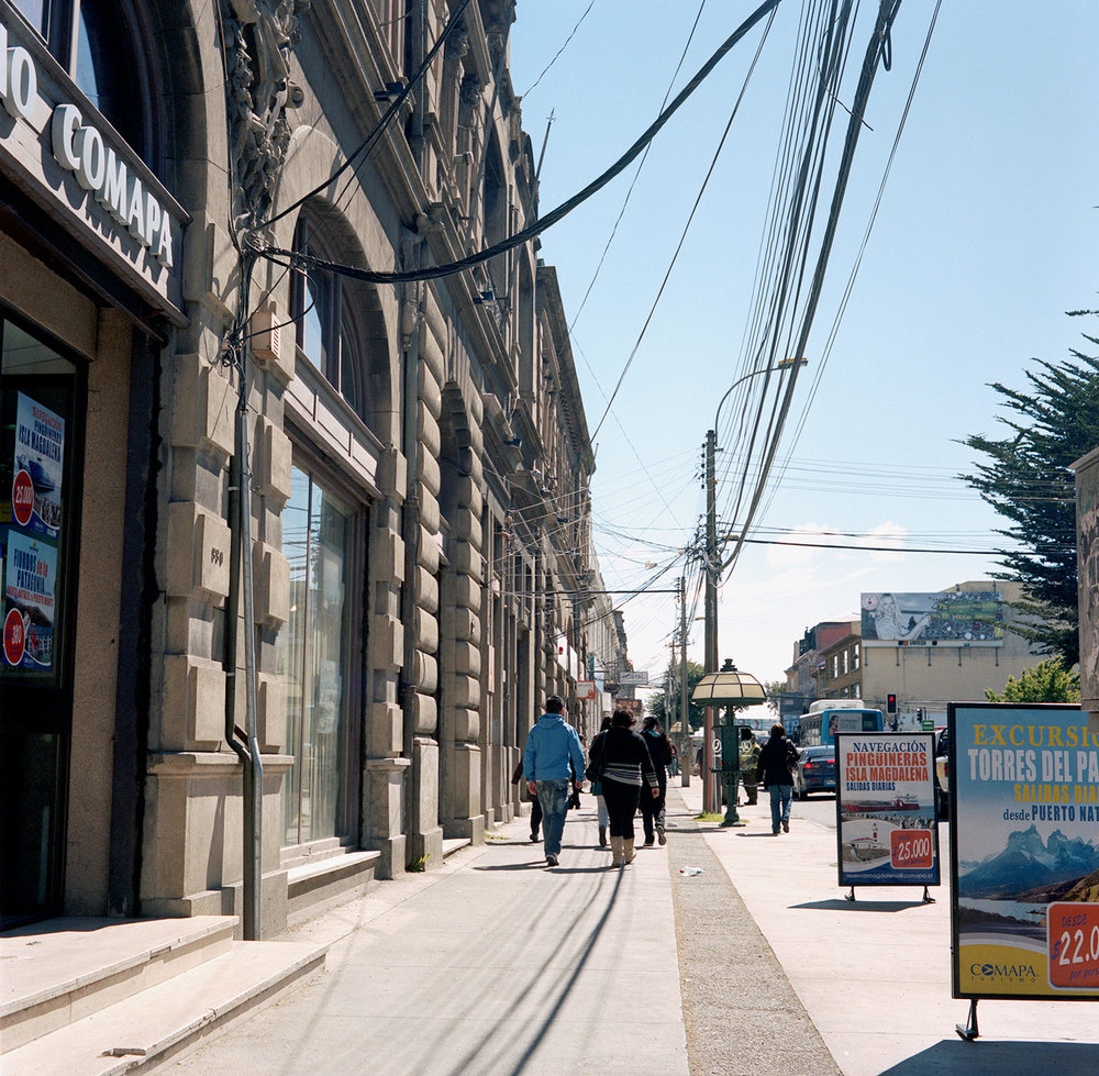 Sidewalk - Punta Arenas, Chile, South America, 2012
