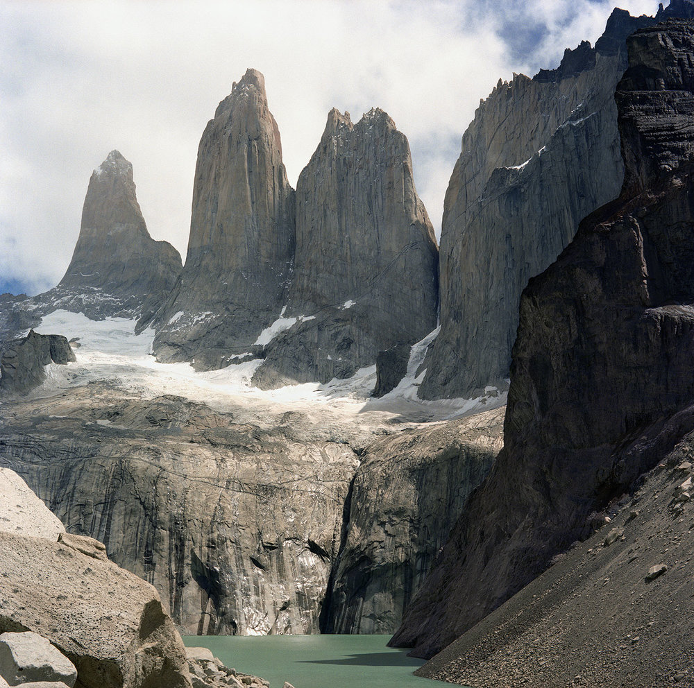 The Three Towers, Torres del Paine National Park, Chile, South America, 2012