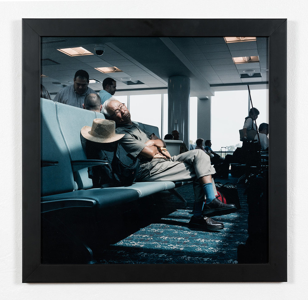 Ben Hayward Smith    Weary Traveler , 2011  Inkjet print  Collection Ben Hayward Smith