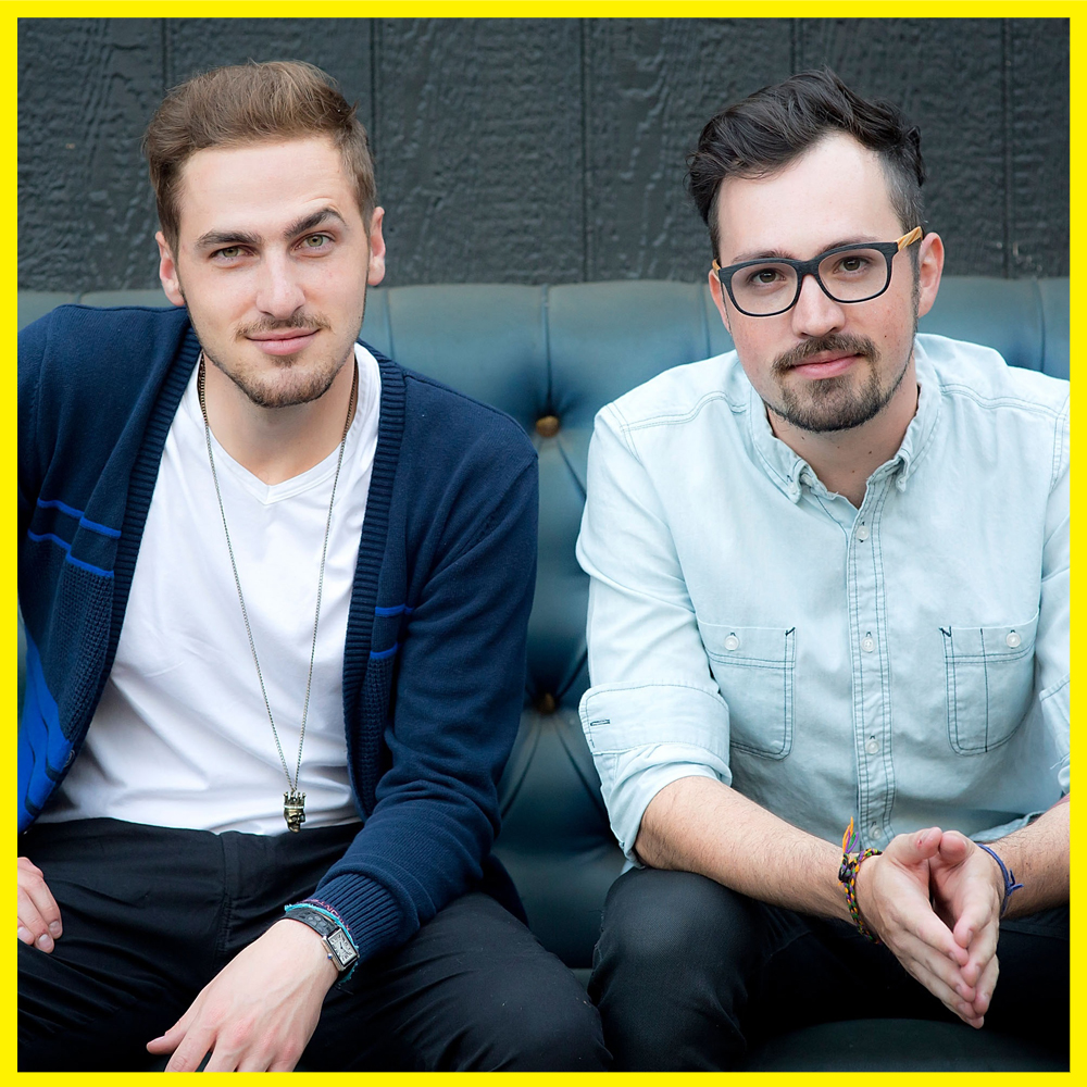 "Heffron Drive is Kendall Schmidt and Dustin Belt. Heffron Drive was formed in Burbank, CA in 2008 by Kendall Schmidt and Dustin Belt. Both originally from Wichita, KS, the duo met on the street ""Heffron Drive"" where they quickly became friends and began making music together. Shortly after creating the band, Kendall booked the Nickelodeon/Columbia Records television show ""Big Time Rush"". Dustin became the touring guitarist for the band, and they two spent nearly 5 years on the road touring the world. Now on indefinite hiatus with BTR, Heffron Drive was revived and the two are in full force promoting it. Lead Vocals / Kendall Schmidt Lead Guitar/ Dustin Belt"