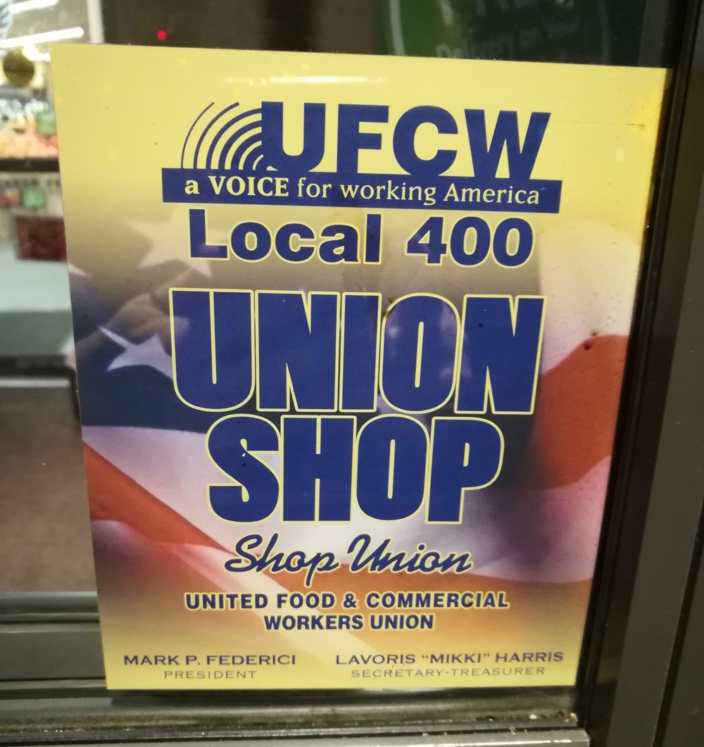 My local Safeway is a union shop!