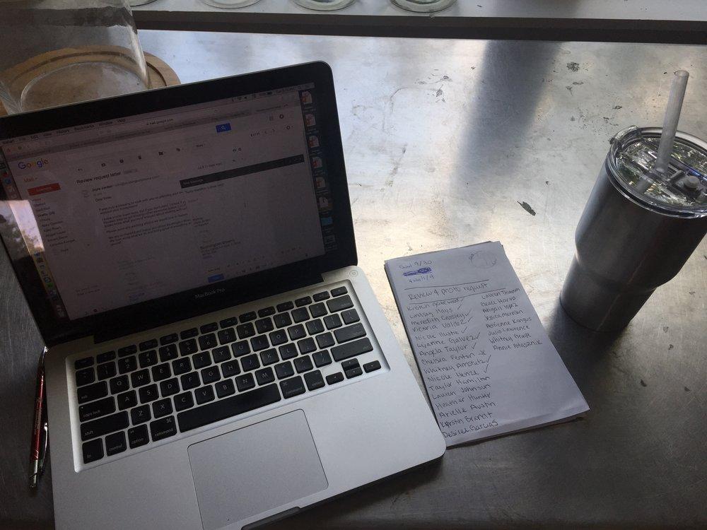 Work, work, work! -