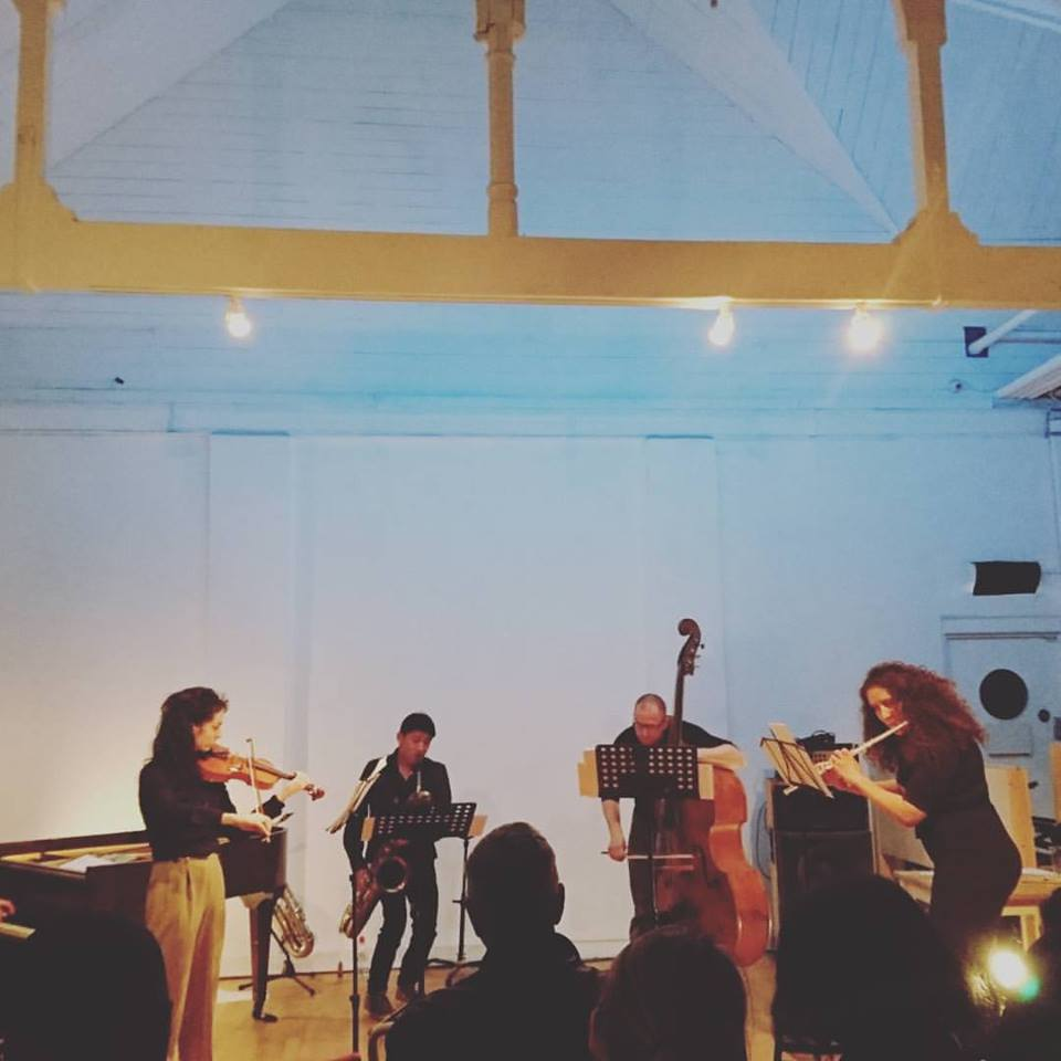 photograph of Ensemble by Megan Steinberg