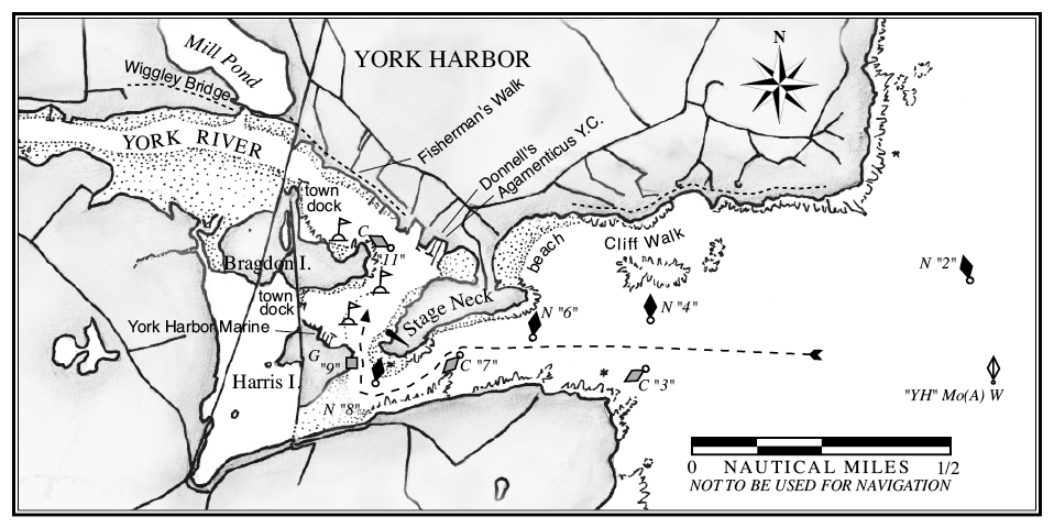 York Harbor A Cruising Guide To The Maine Coast
