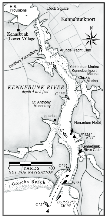 Kennebunk River A Cruising Guide To The Maine Coast