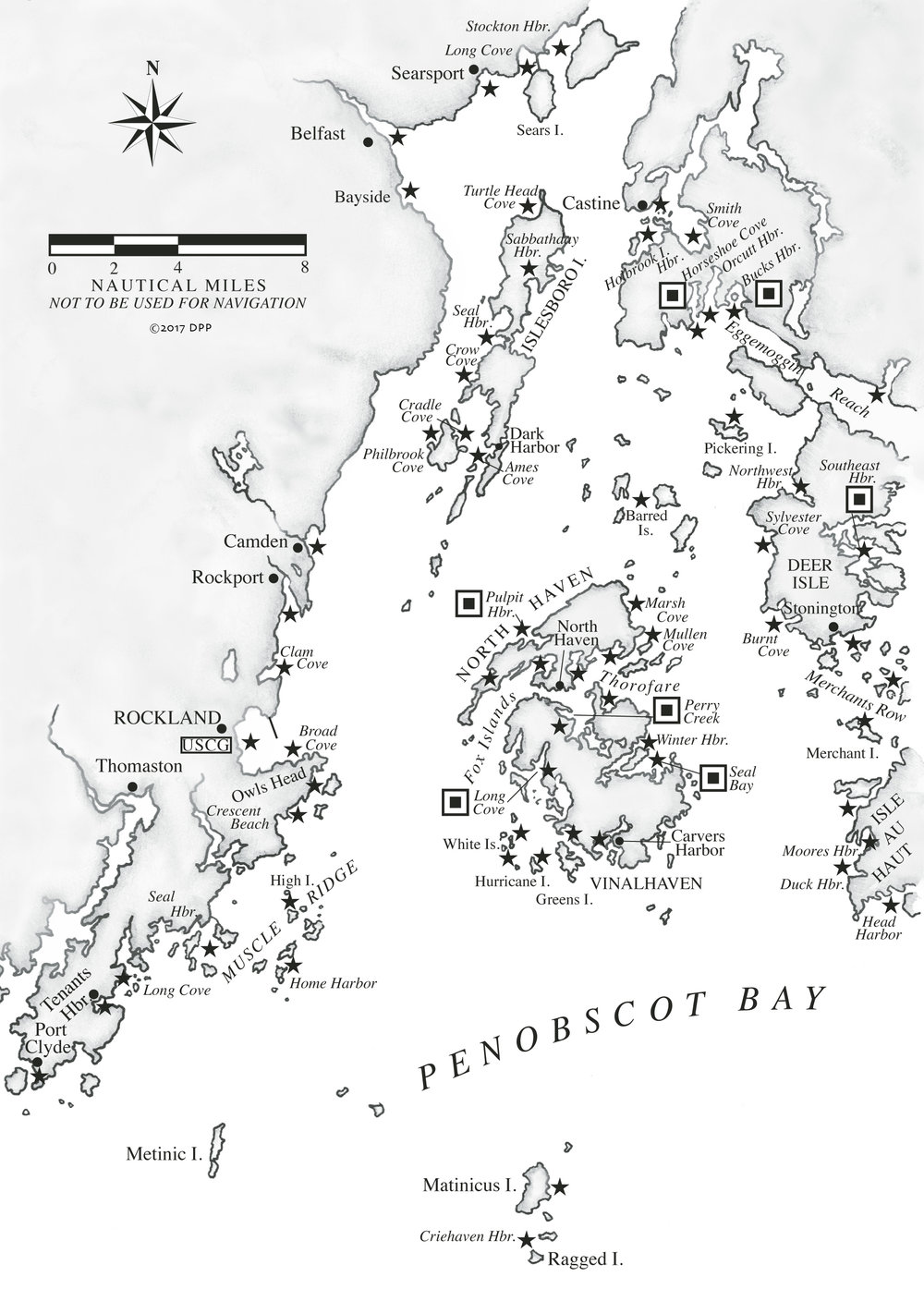 Penobscot Bay A Cruising Guide to the MAINE COAST