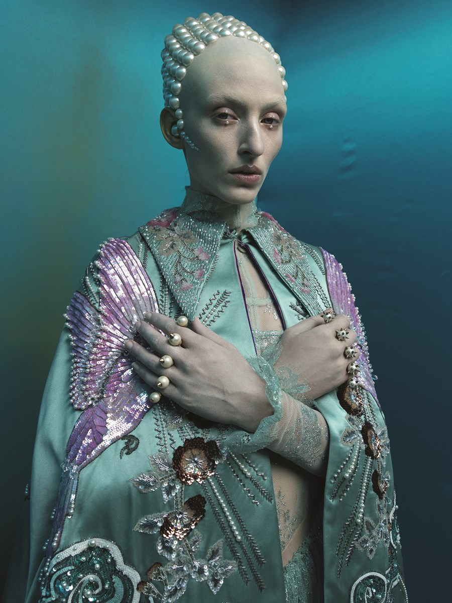 Photo by Tim Walker, Styled by Katy England for  Another Man Magazine