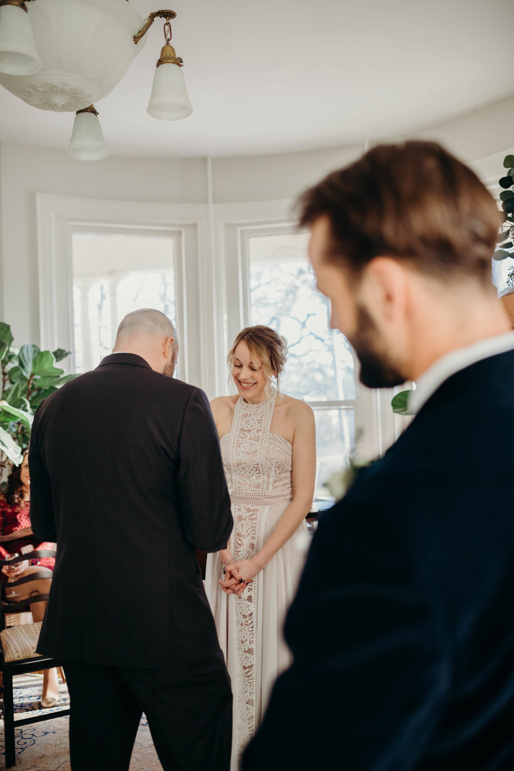 There was not at dry eye at this ceremony, it was absolutely beautiful!