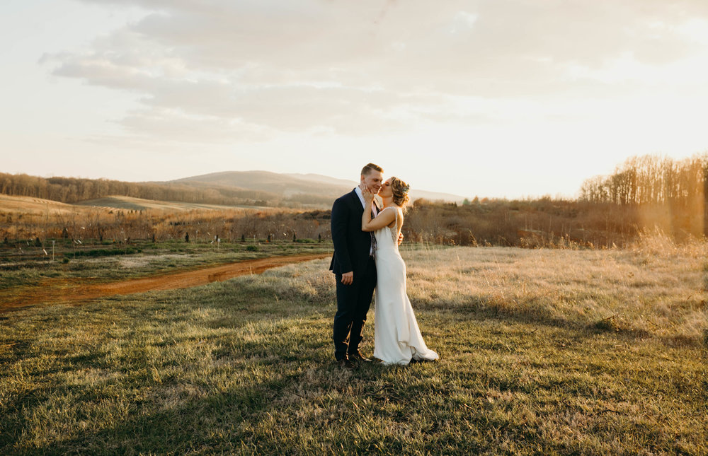 future brides--take note of the lighting in these photos! this is why you should ensure that your day of schedule allows for some time for portraits at golden hour!