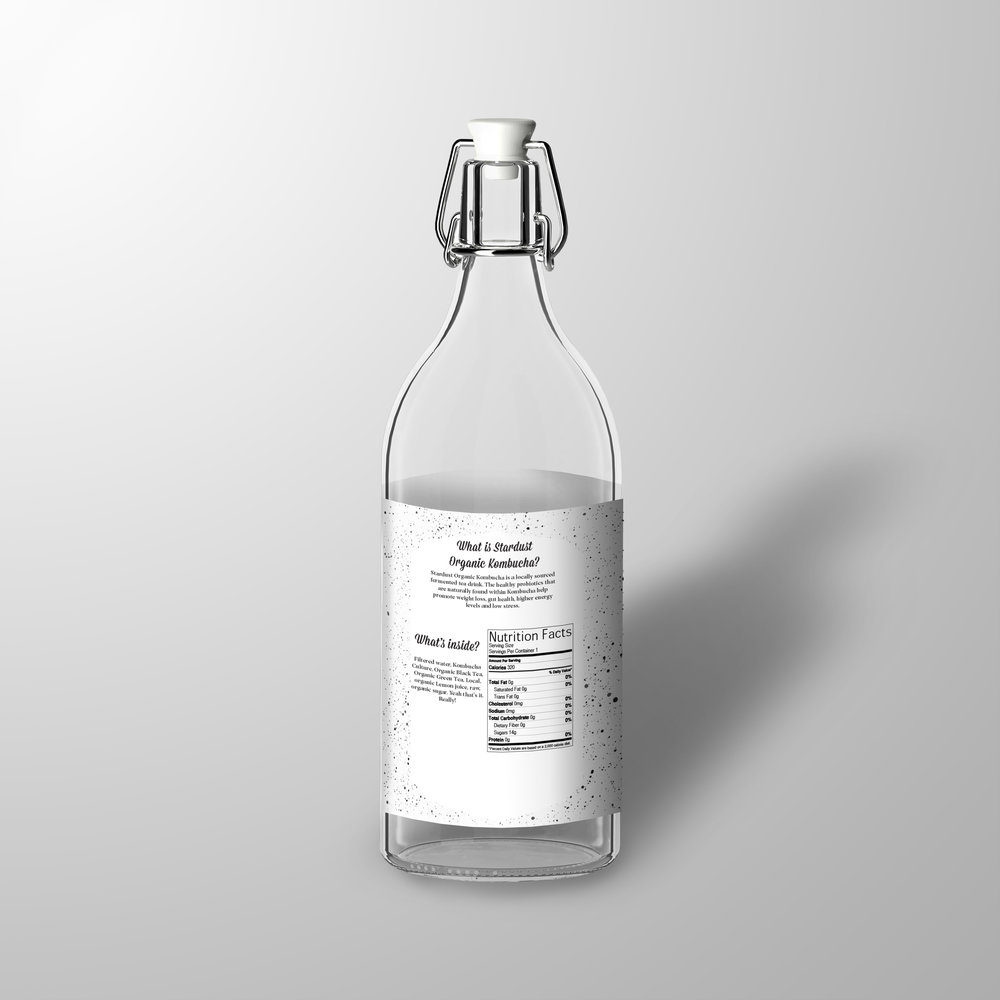 Here's the back of what all three bottles will look like.