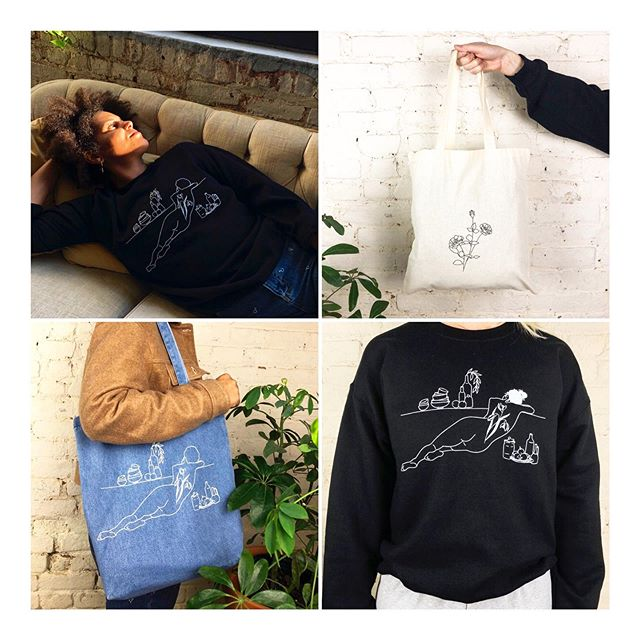 ✨ S A L E ! ✨ Take 15% off all crewnecks and Welcome Home totes until the end of February!!! 🖤 Use discount code SALE15 at checkout ✨