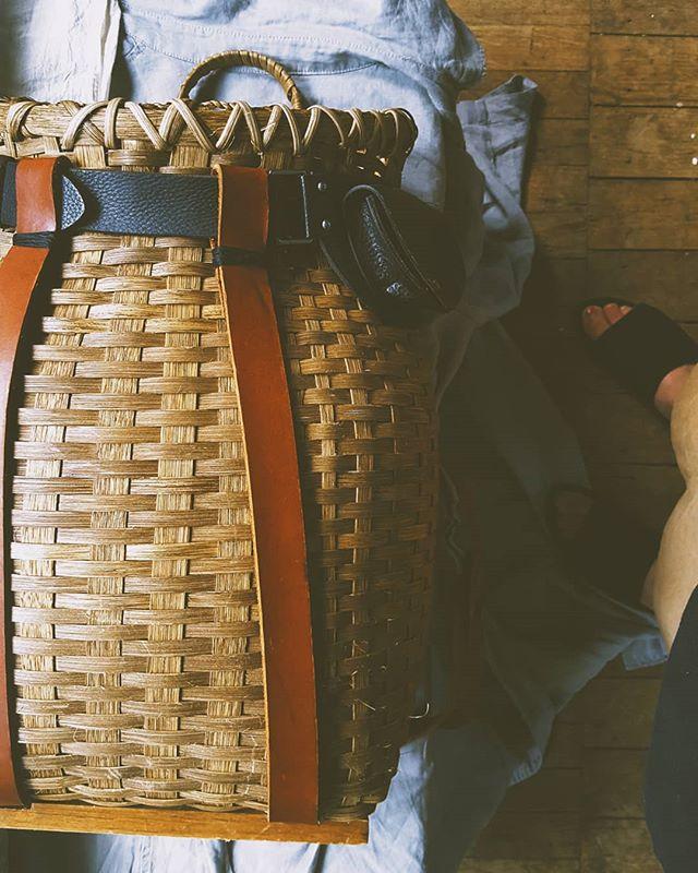 All day intensive Adirondack pack basket workshop -- July 22nd -- new village farm -- shelburne, VT-- https://alexarivera.com/classes -- come make a basket, hands on, heart open 💖