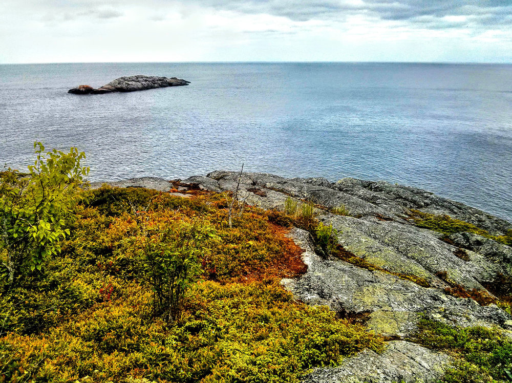 The monstrous Lake Superior from Pukaskwa National Park - Southern Headland Trail.