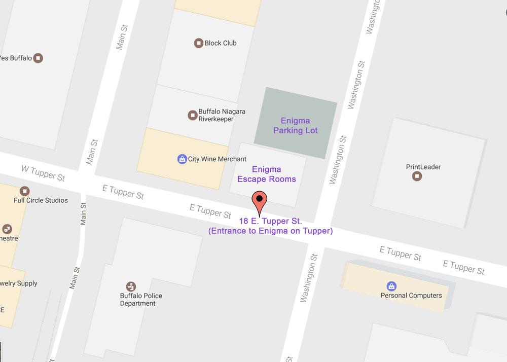 Enigma Escape Rooms Escape Room Fun In Buffalo NY - Where is buffalo located