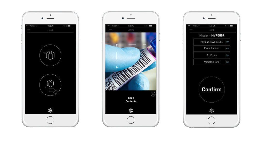 New App wireframes