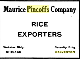 Courtesy  The Rice Journal , 1924.