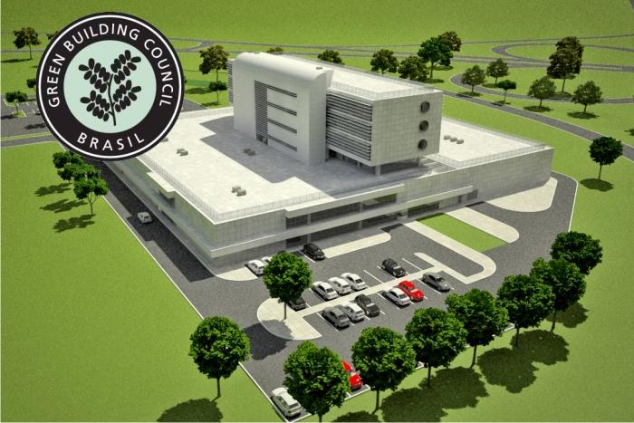 Sede Banco Central Salvador;Cliente: AXXO Construtora;Certificação:LEED NC Silver para o 1° edifício governamental -