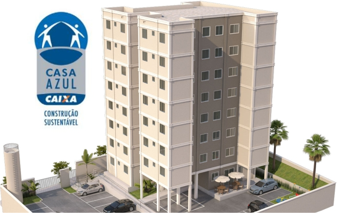 Residencial Ville Barcelona——————————————————Precon EngenhariaCertificação Selo Casa Azul da CEF nível Prata. - Primeiro Projeto Minha Casa Minha Vida certificado no Brasil