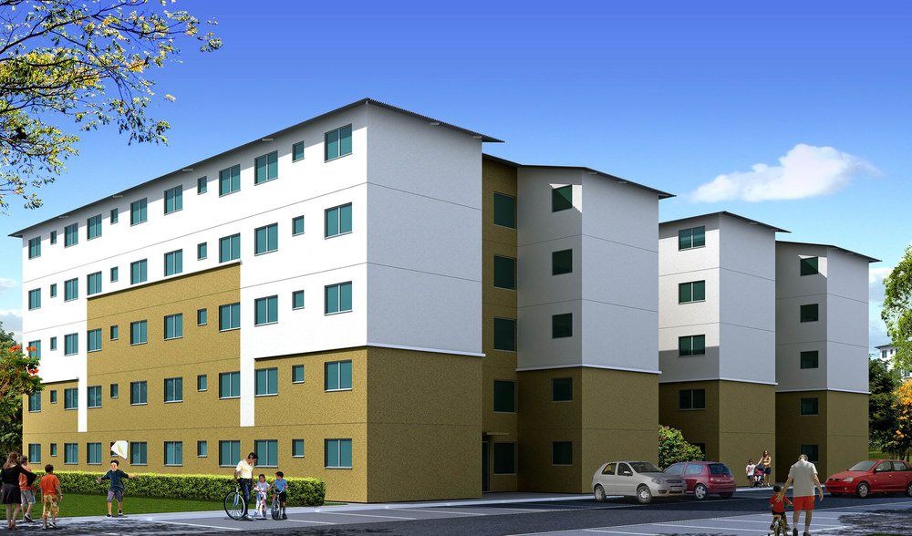 Residencial Dona Ivone——————————————————Ancona EngenhariaSelo Casa Azul da CEF -