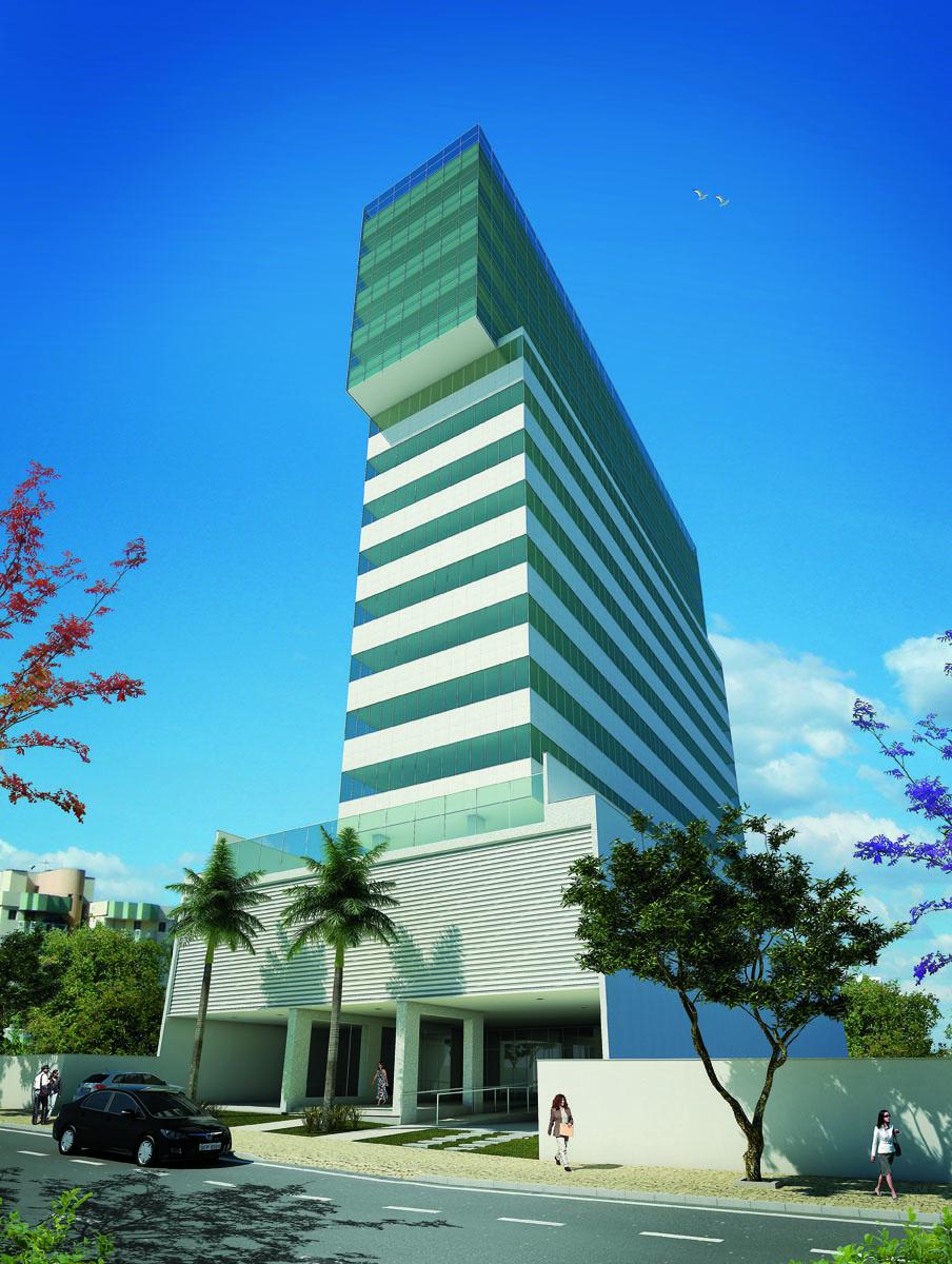 Edifício Comercial Prime Savassi - Belo Horizonte/MG  Cliente: Construtora Ferreira Miranda