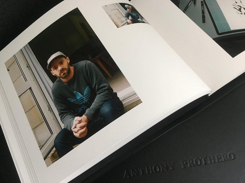 Portfolio view #1, Anthony Prothero 2018