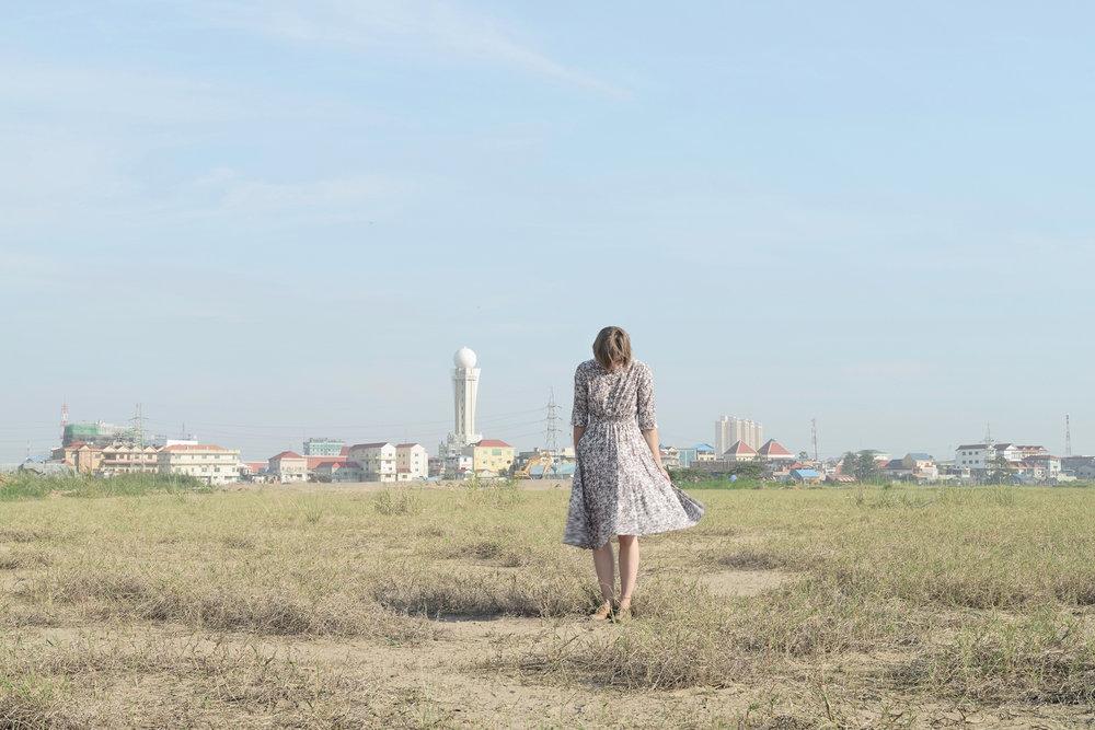 © Elina Brotherus - Dried Lake, Phnom Penh, 2013, 70x105 cm