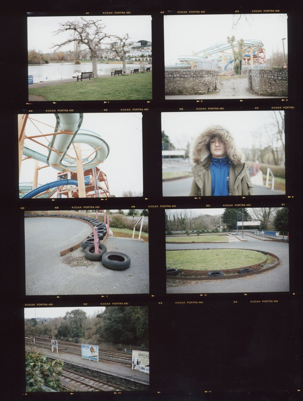 Contact Sheet #1, Anthony Prothero, 2018