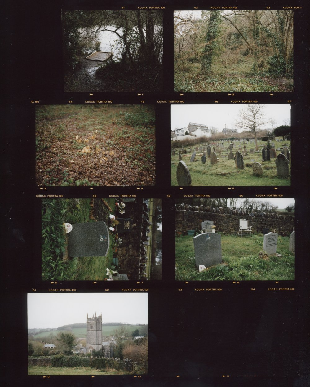 Contact Sheet #5, Anthony Prothero, 2018