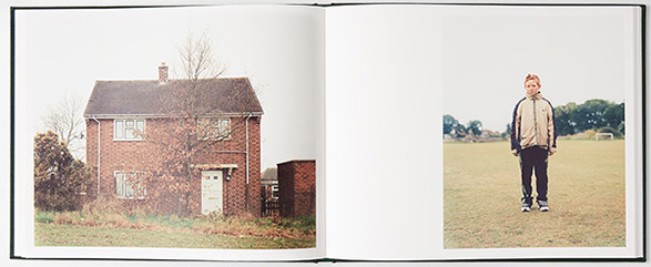 Fig.8   Book view of 'The New Village', John Spinks, 2017