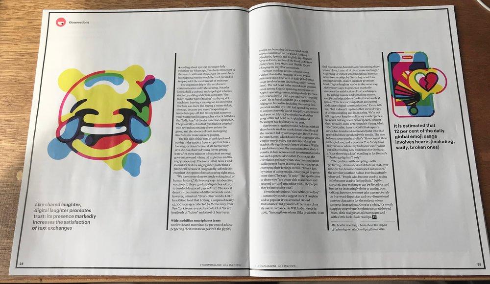 The FT Magazine - Anthony Prothero