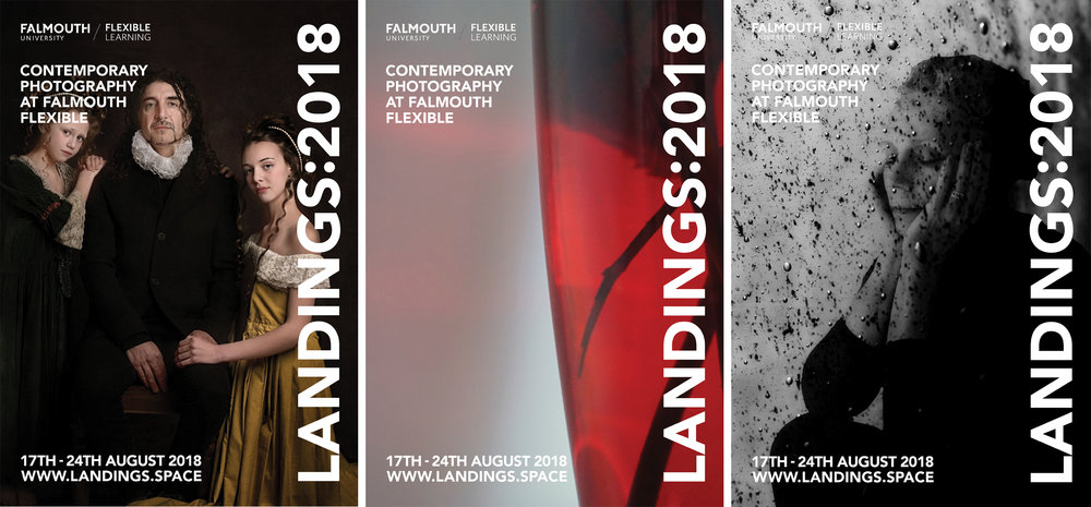 LANDINGS:2018 Poster designs - Anthony Prothero