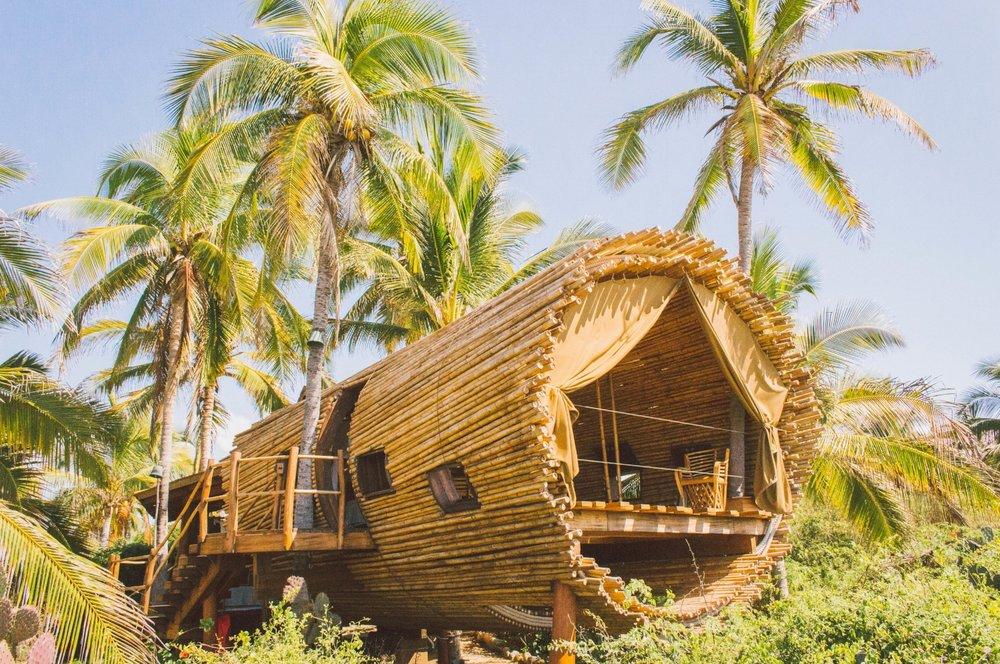 Treehouse at Playa Viva Hotel
