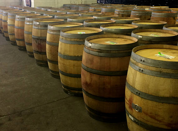59 Gallon Oak Wine Barrel *(Local Pick up Only)