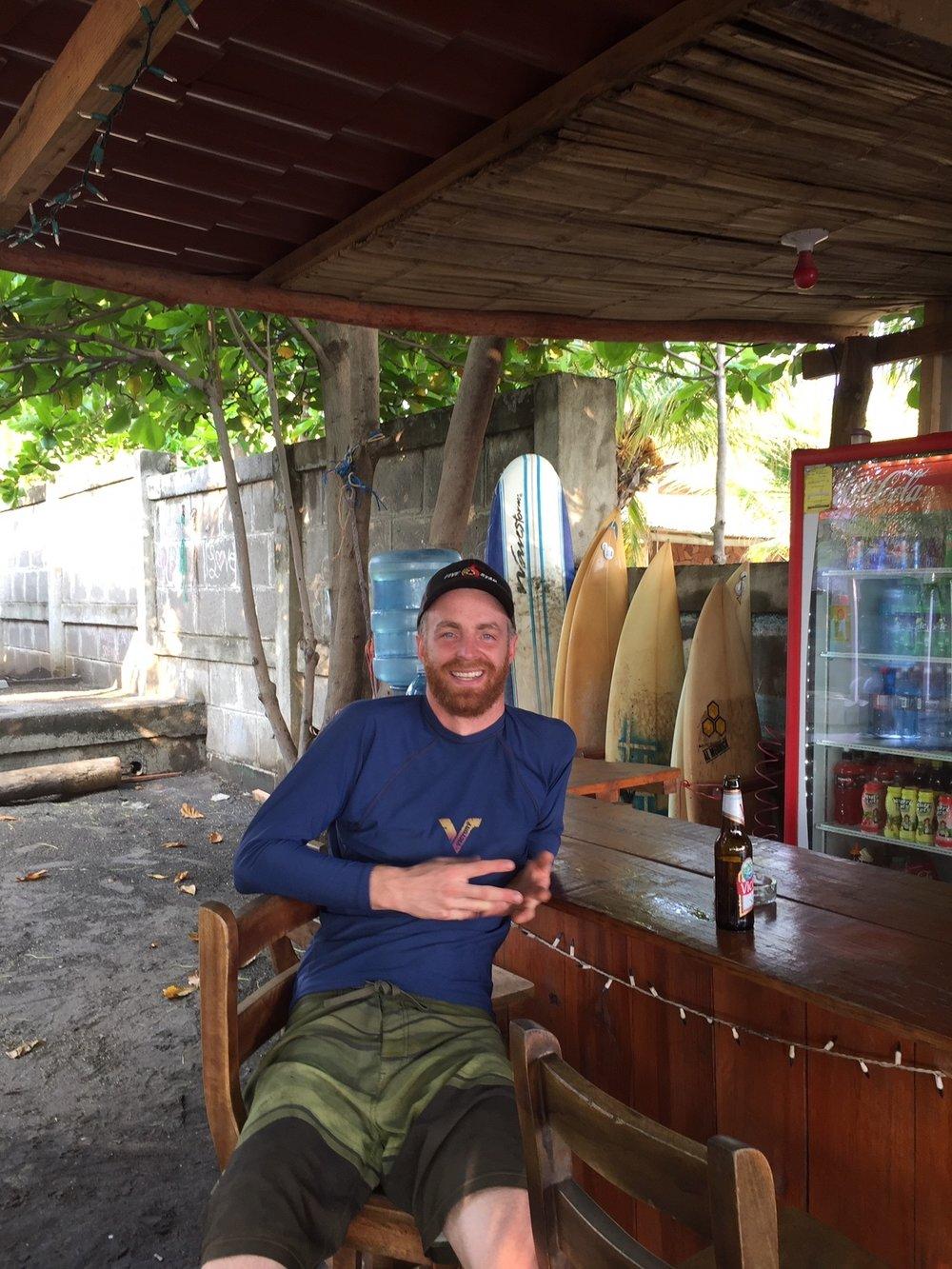 Beach Bar at the Hostel