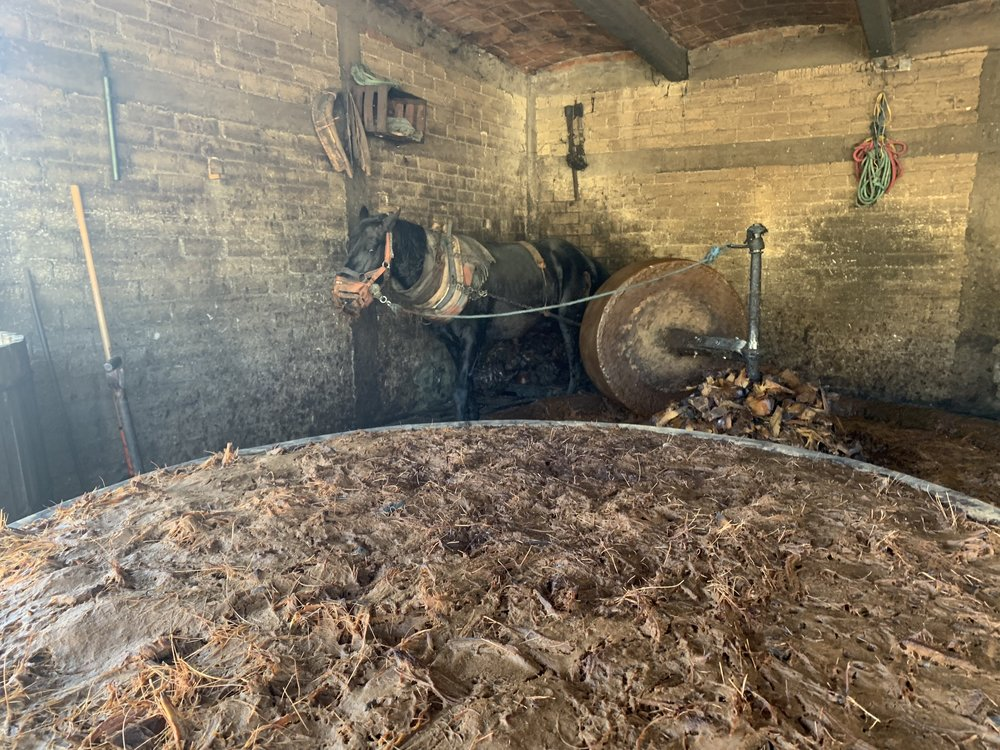 Stone Wheel Crushing
