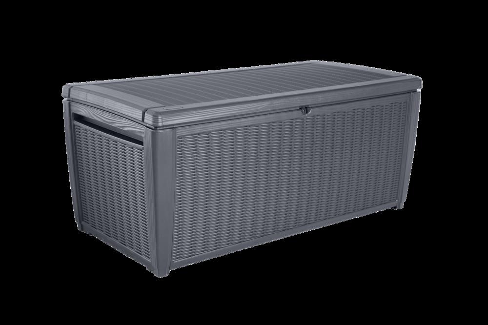 Storage benches get boxlock for Coffre de rangement exterieur carrefour