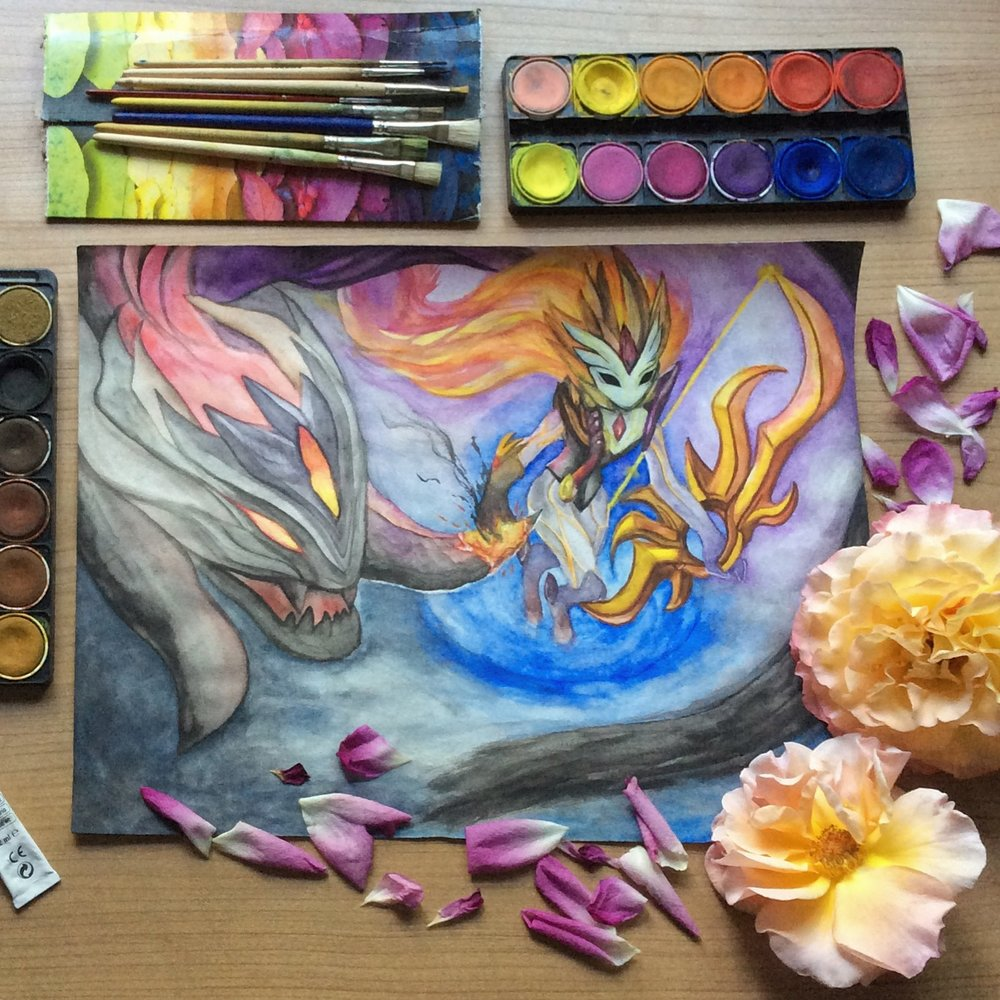 Shadowfire Kindred art piece submitted by    badass.kalista