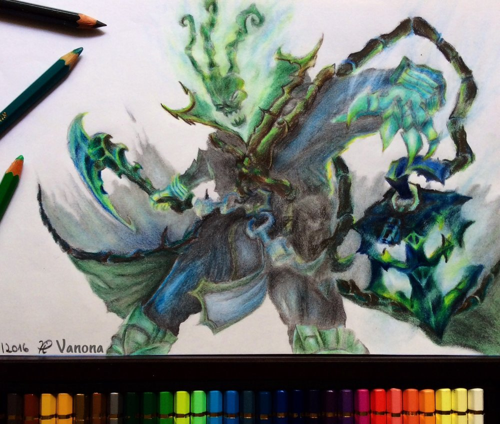 Thresh submission by    badass.kalista