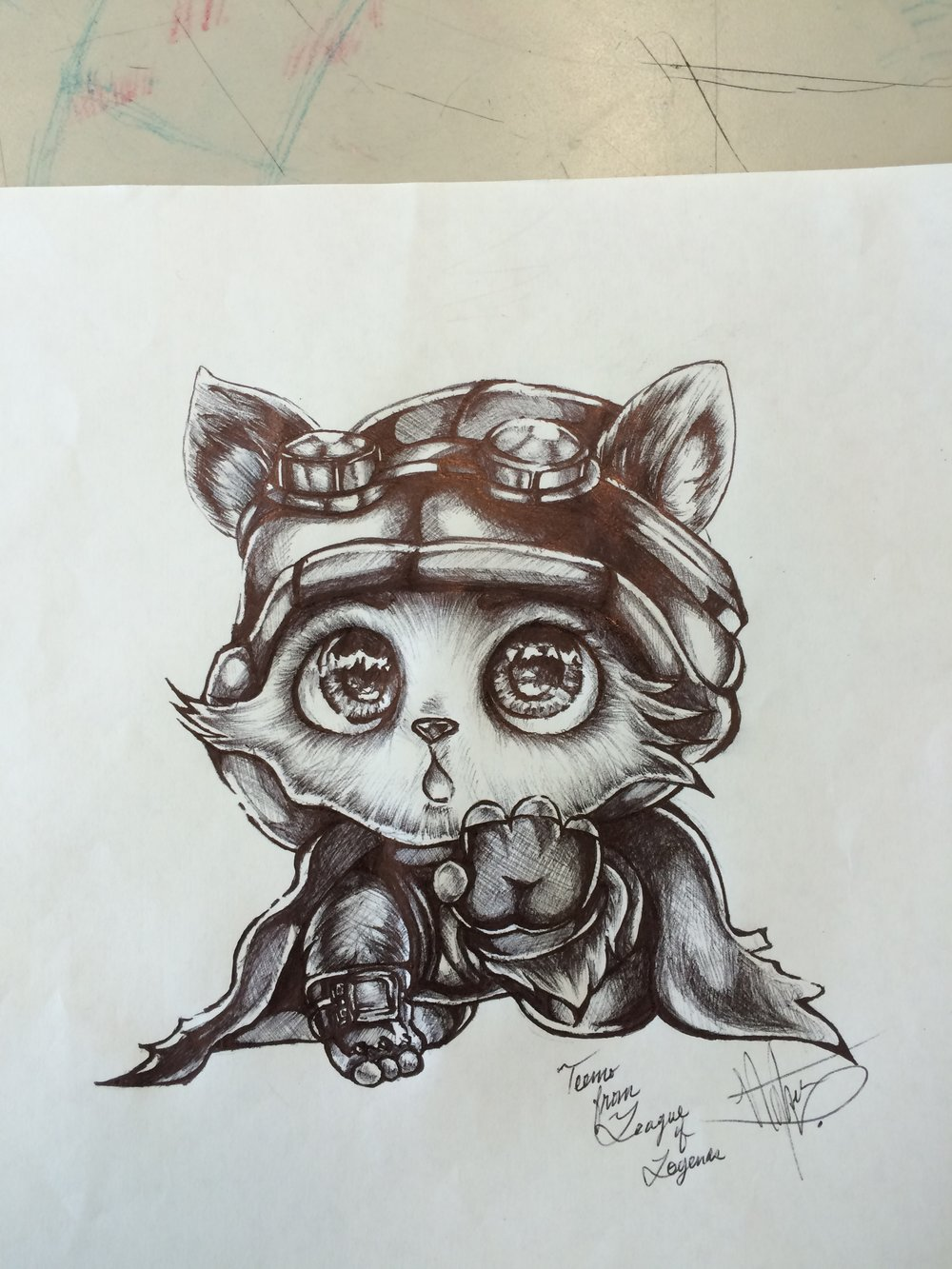 Teemo submission by   Neohkk