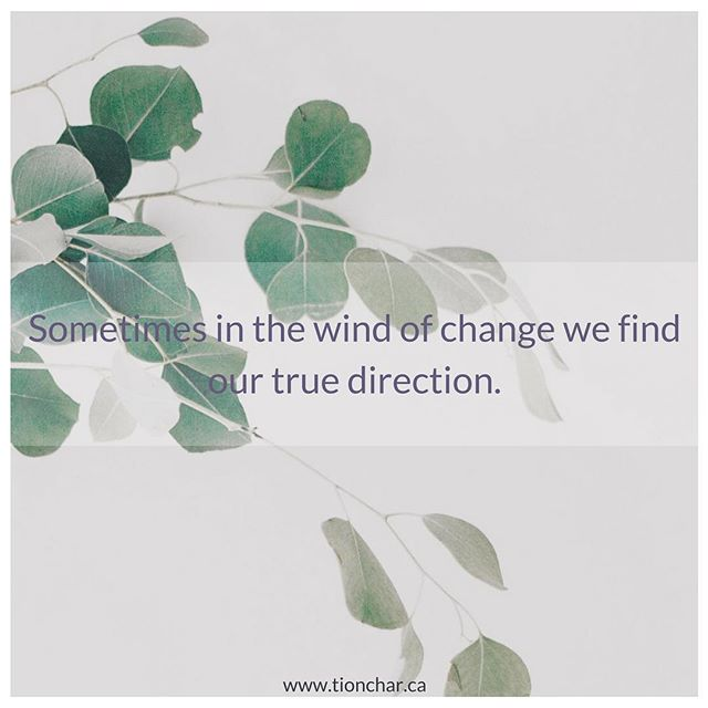 Change that we don't ask for is the hardest to move through. But sometimes, when we reflect back and see where we are today... We. Get. It. ⠀ ⠀ Just in case anyone needed that reminder.⠀ •⠀ •⠀ •⠀ •⠀ •⠀ #leadership #growth #intuition #followyourgut #trustyourgut #instincts #change #goals #reward #changecoach #tionchar #gratitude #feeling