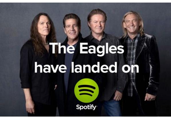 The Eagles have landed…