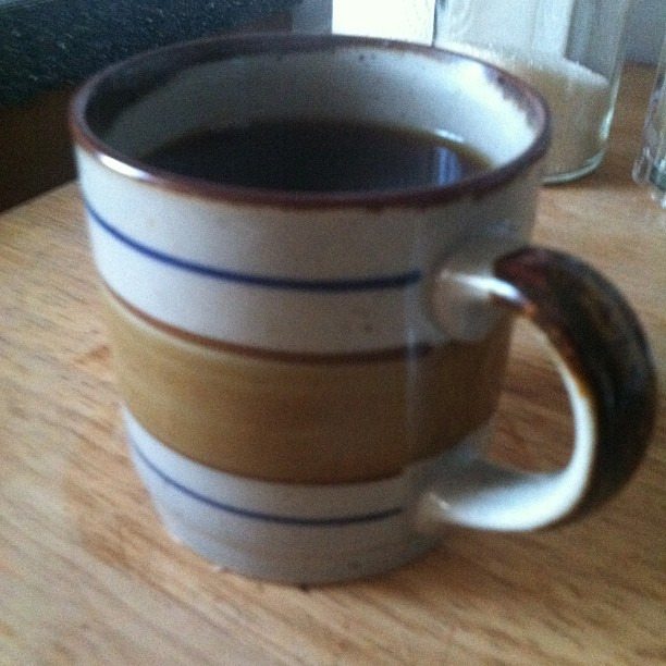 This is what it looked like to drink coffee in the 1970s.