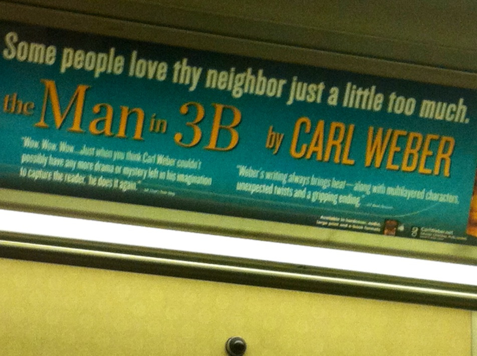 """""""Some people love thy neighbor a little too much"""" Part of the Subway Great Book Series"""