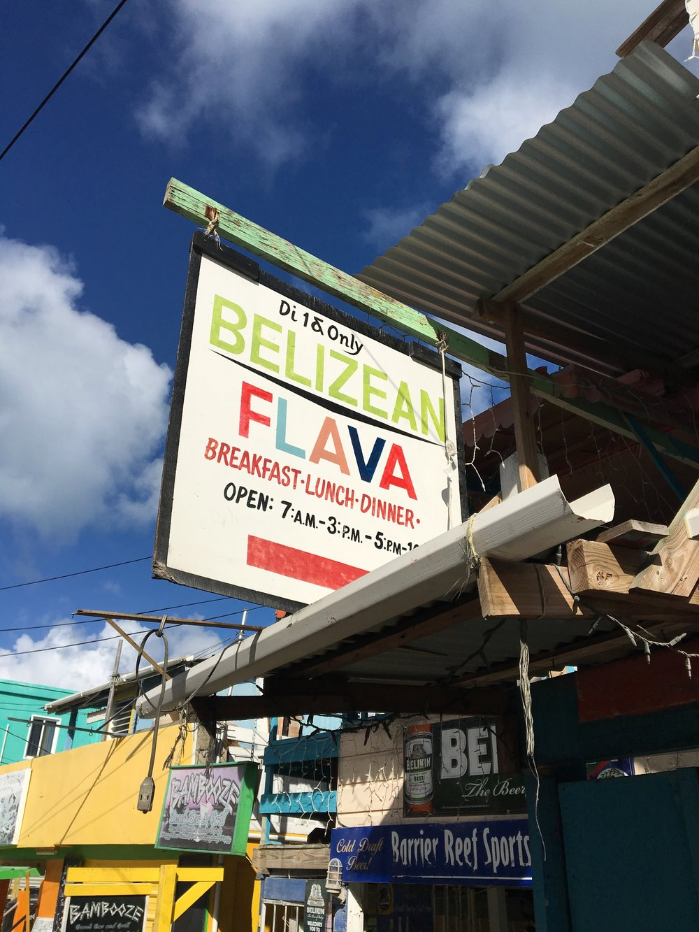 Belizean Flava & Barrier Reef Sports Bar