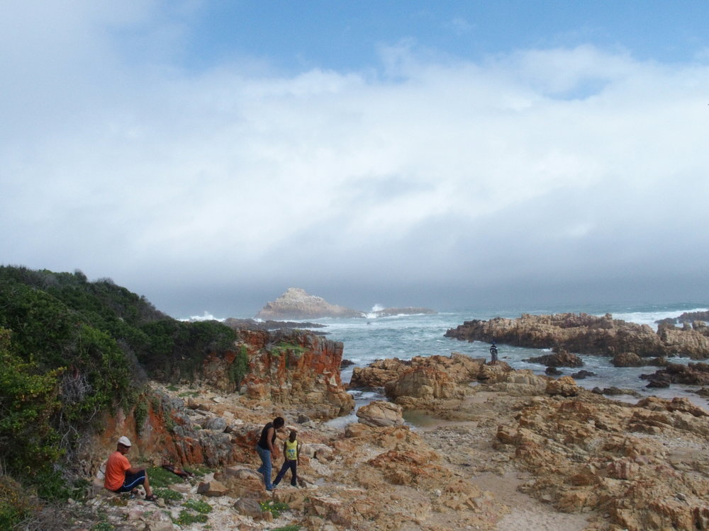 One of many diverse landscapes in South Africa: Knysna Heads on the Garden Route