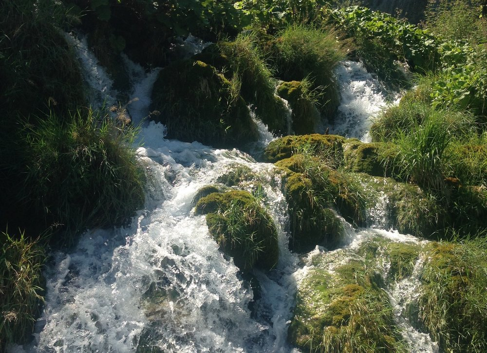 Croatia, with its Plitvice lakes and ocean border, has no shortage of water.