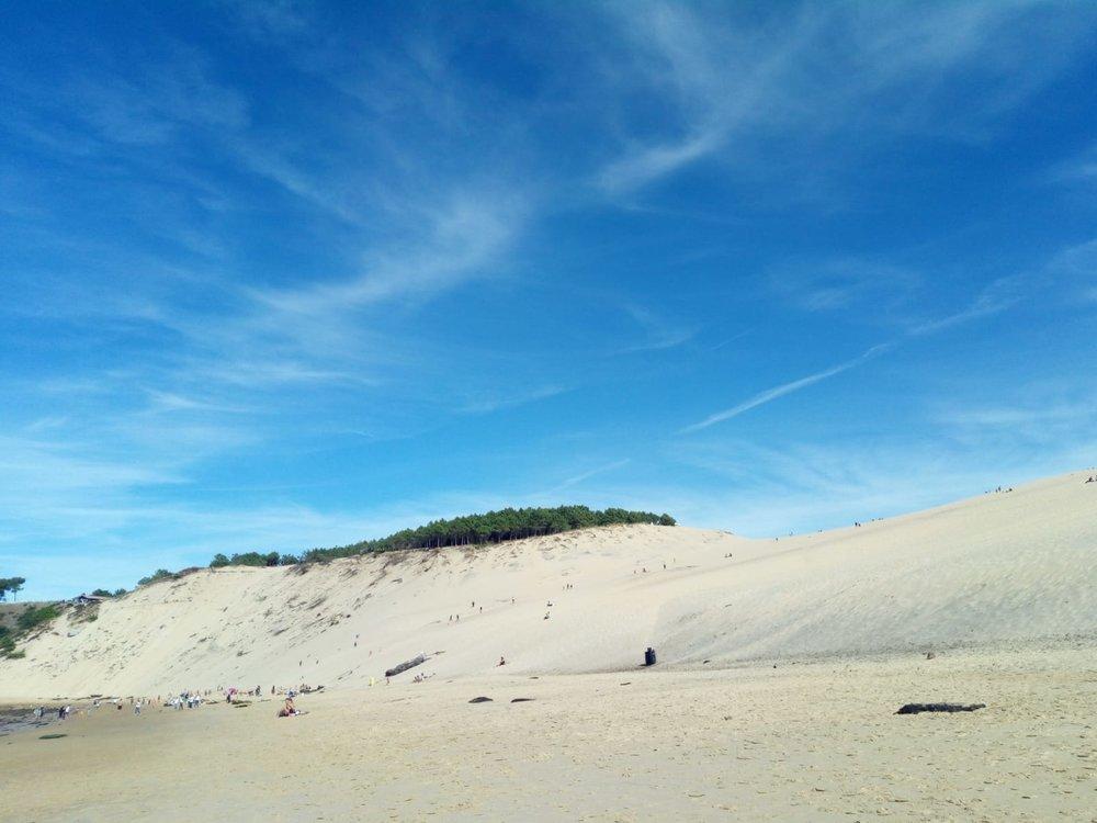 The Dune du Pilat, the biggest sand dune in Europe