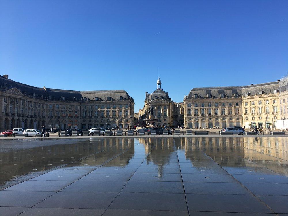 Place de la Bourse and the Miroir d'Eau