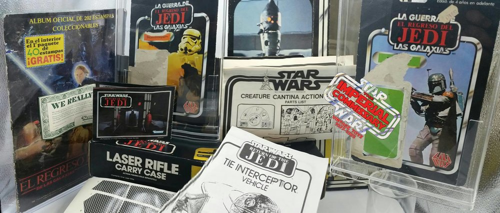 IC Paper a group dedicate to collecting Star Wars items made from trees