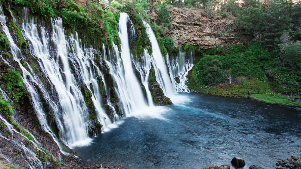 Burney Falls, McArthur-Burney State Park,California